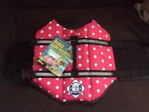 Paws Aboard Doggy Life Jacket Size Small