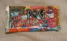 POG SERIES 3 THE WORLD TOUR sealed foil pack 1994/1995 Waddingtons 100% POGs