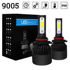 9005 COB LED Headlight Kit HB3 1800W 280000LM High Beam 6500K White Light Bulb