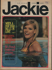 Jackie Magazine 13 July 1968 Issue No.236   Mick Jagger  Bee Gees  Oliver Despax
