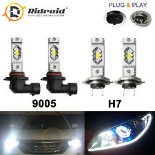 LED Headlight Bulb High Beam 9005 Low Beam H7 for Subaru Legacy Outback 2005-14