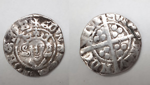 Medieval Hammered EDWARD Silver Short Cross Penny Civitas LONDON HRCL3