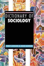 Dictionary of Sociology by Joan Garrod and Tony Lawson 9781579582913