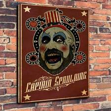 "Captain Spaulding Printed Canvas A1.30""x20""Deep 30mm Frame The Devils Rejects V1"