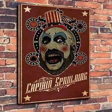 "Captain Spaulding Printed Canvas A1.30""x20""Deep 30mm Frame The Devils Rejects V1"