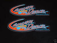 Authentic Canyon Dancer Decals Stickers