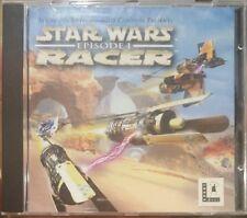 STAR WARS EPISODE I 1 RACER LUCASARTS COMPUTER GAME CDROM CD-ROM 1999 EDITION