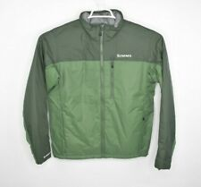 NEW Simms Mens Midstream Insulated Jacket Beetle Green Primaloft Size Small