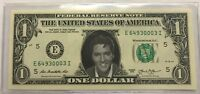 """ELVIS PRESLEY"" $1 DOLLAR FEDERAL RESERVE NOTE (GENUINE BILL) IN HOLDER"