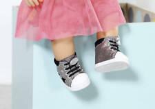 Zapf Creation 826997 BABY born Trend Sneakers 43cm in silber NEUHEIT 2019 OVP,