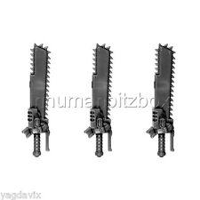 SM338 EPEE TRONCONNEUSE x3 SPACE MARINE MK3 WARHAMMER 40000 W40K PROSPERO 67*3