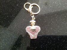 swarovski crystal Perfume keychain Purse Charm