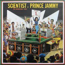 Scientist vs. Prince Jammy – Big Showdown 2002 UK VINYL LP Album Greensleeves