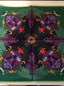 Paul Feig and J Crew 100% Silk Pocket Square Made In U.K.  Rare