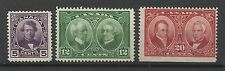 Canada 1927 Set of Historical Issues, Mounted Mint. [608]