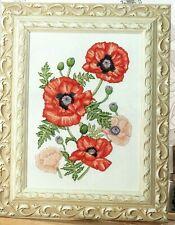 Cross stitch chart. Provencal Poppies