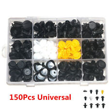 150Pcs 12-Size Car Door Panel Fender Repair Fastener Clip Rivets Screws Push