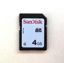 4 GB SanDisk SD Secure Digital NEU SDHC Class 4 Speicherkarte 4GB
