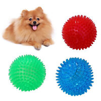 KQ_ Pet Puppy Dog Squeaky Toy Hedgehog Ball Toys Bite Resistant Squeeze Toy Film