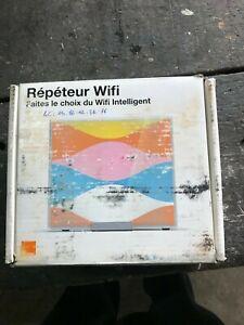 Orange Répéteur Wifi / Cadre Photo blanc / Extender Wi-fi Neuf / Valeur 85€