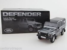 1:18 DORLOP Land Rover Defender 110 One Ten Grey+Flags Decals+Shovel RHD NEW ED.
