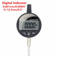 "0.001mm/0.00005"" Dial Micro Indicator Instrument Digital Micrometer Gauge Tool"