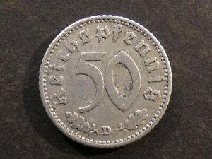 Germany, 50 Reichspfennig, 1940D.