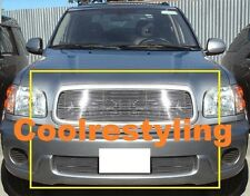FOR 01 02 03 04 Toyota Sequoia Billet Grille Grill Combo Inserts logo covered