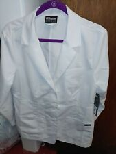 Nwt Grey's Anatomy White Lab Coat Size Lg style 4456/Waist 28 in.