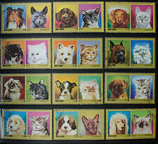 Cats Used United Arab Emirates Stamps