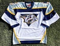 Nashville Predators 1998-2004 Pro Player Hockey Jersey Mens/Adult Large Vintage