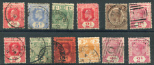 BRITISH HONDURAS (23504): TRD/POSTMARKS/CANCELS/QV stamps