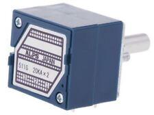 Alps Electric RK27 Série Carbone Film Potentiomètre Avec Un 6 mm Dia. Arbre, 20kÎ