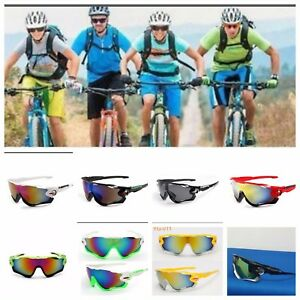 USA SHIP  Outdoor  Lens Polarized  UV400 Cycling Sunglasses  Bike Riding Goggle