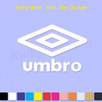 Umbro Iron-On Sports LOGO DIY T-Shirt Clothing Heat Transfer PU Sticker 6cm Wide