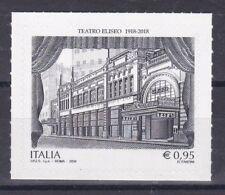 Italia 2018 Centenario Teatro Eliseo  Mnh
