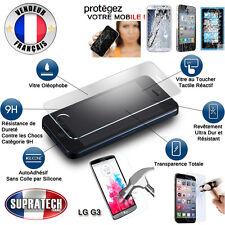 Protection d'Ecran en Verre Trempé Contre les Chocs pour LG G3