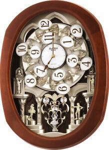 Rhythm Clocks Grand Encore II Musical Wall Clock (4MH407WU06)