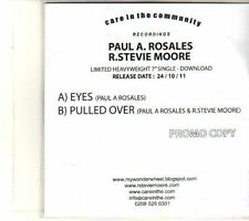 (DT956) Paul A Rosales / R Stevie Moore, Eyes - 2011 DJ CD