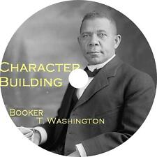Character Building, Booker T. Washington Civil Rights Audiobook on 6 Audio CDs