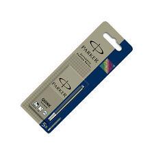 Parker Quink Ink Cartridges Black Blue Permanent 5 Pack S0116250