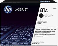 HP 81A CF281A Black Toner Cartridge LaserJet Enterprise M630