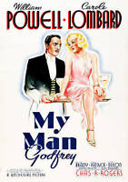 MY MAN GODFREY-MY MAN GODFREY  DVD NEW