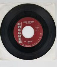 BO DIDDLEY GUN SLINGER / SIGNIFYING BLUES-CHECKER-ROCK 45 record