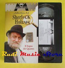 film VHS cartonata SHERLOCK HOLMES Il segno dei quattro MALAVASI (F37**) no dvd