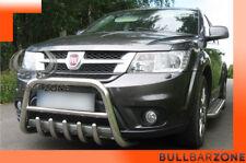 FIAT FREEMONT 2011+ PARE-BUFFLE BAS AVEC GRILLE DE PROTECTION CARTER EN INOX