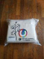 Coit & Campbell Queen Sheet Set 500TC Solid Sateen Weave White 100% Cotton