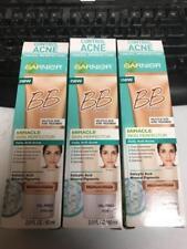 3 PACK GARNIER Miracle Skin Perfector BB Cream ACNE CONTROL MEDIUM / DEEP LOOK!