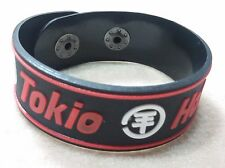 NEW TOKIO HOTEL RUBBER BRACELET WRISTBAND UNISEX WOMEN RED SOUVENIRS DAY WB68