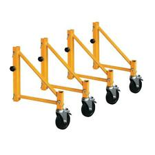 MetalTech Scaffold Outriggers 6 ft. Weather Resistant Casters Rugged Steel